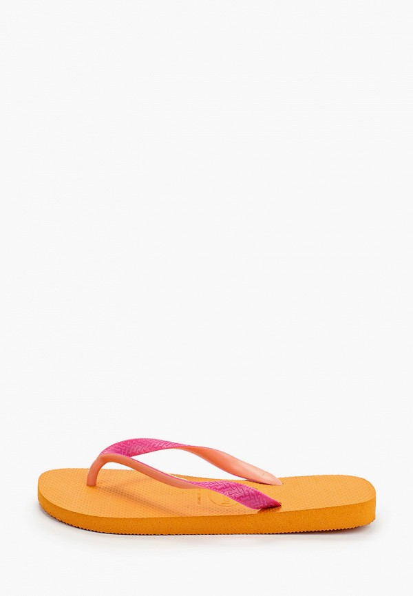 женские сланцы havaianas, оранжевые