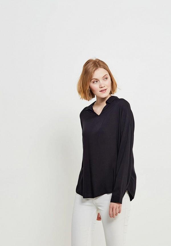 Купить Блуза H:Connect, hc002ewaavq9, черный, Весна-лето 2018