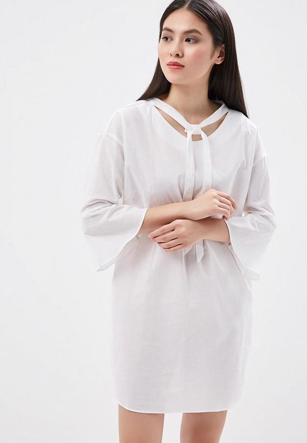 Платье H:Connect, hc002ewaaxc0, белый, Весна-лето 2018  - купить со скидкой