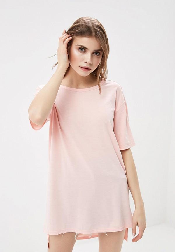 Купить Туника H:Connect, hc002ewaaxh1, розовый, Весна-лето 2018