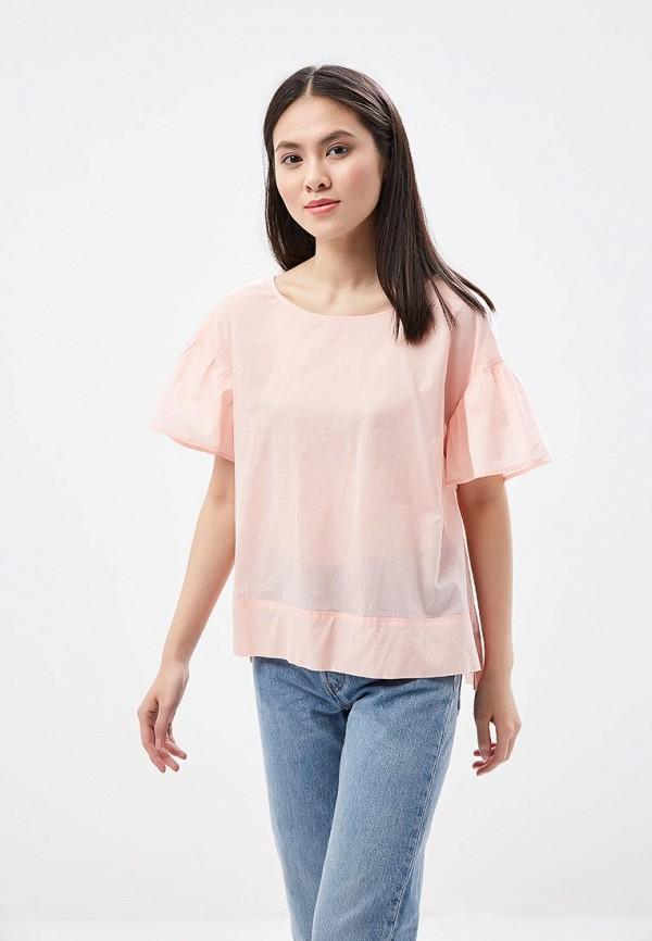 Купить Блуза H:Connect, hc002ewaaxu0, коралловый, Весна-лето 2018