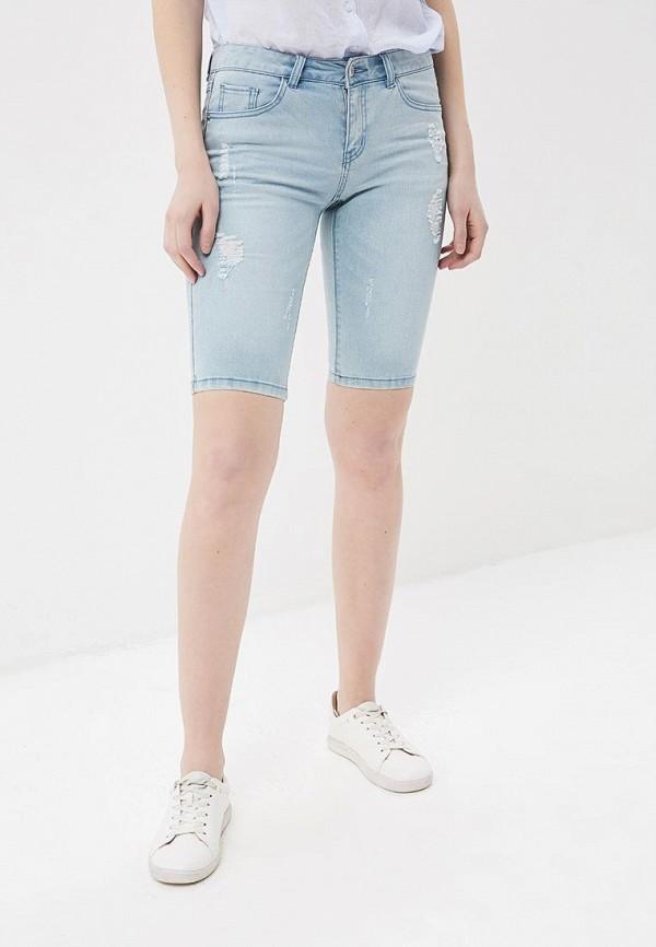 Купить Шорты джинсовые H:Connect, hc002ewaayw2, голубой, Весна-лето 2018