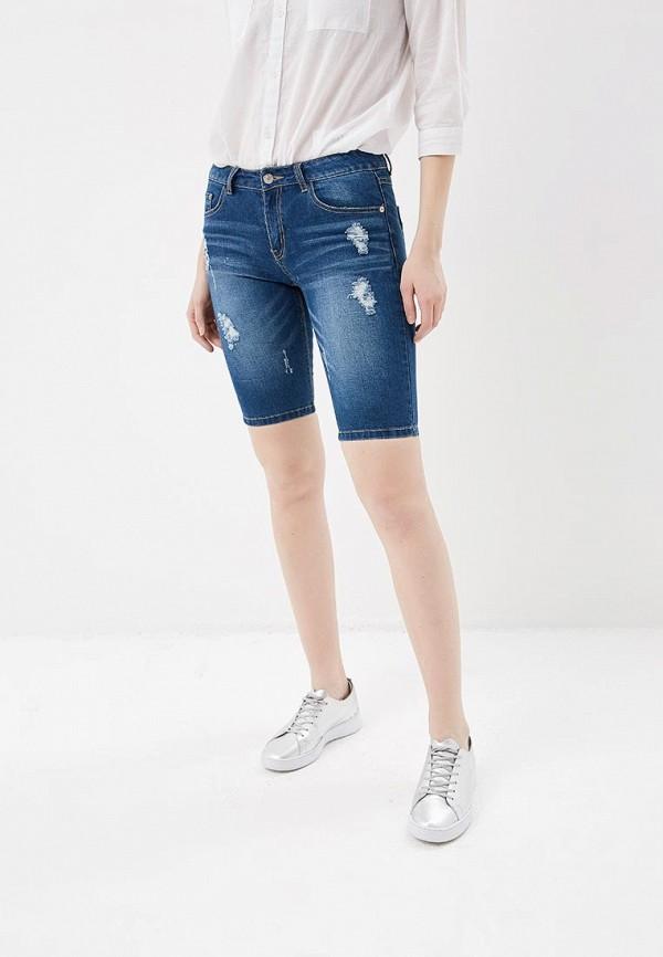 Купить Шорты джинсовые H:Connect, hc002ewaayw3, синий, Весна-лето 2018