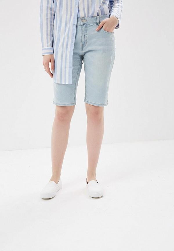 Купить Шорты джинсовые H:Connect, hc002ewaayw4, голубой, Весна-лето 2018