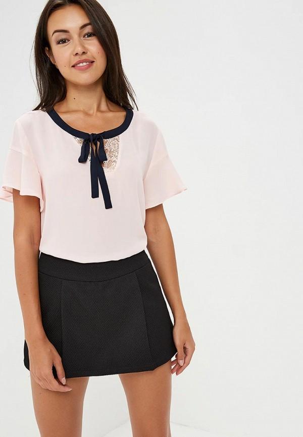 Купить Блуза H:Connect, hc002ewaxmy8, розовый, Весна-лето 2018
