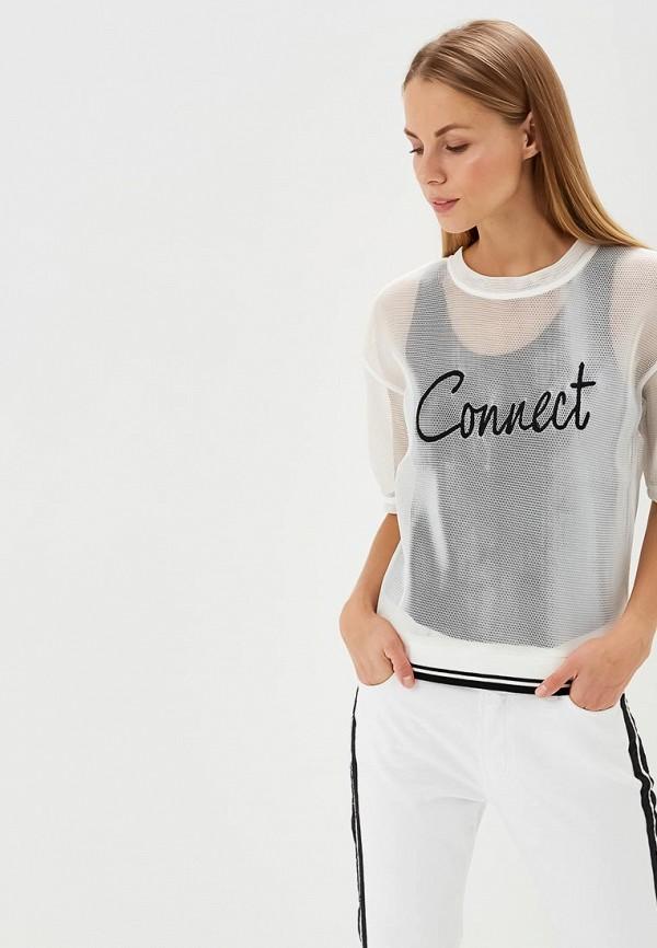 Купить Футболка H:Connect, hc002ewaxnd2, белый, Весна-лето 2018