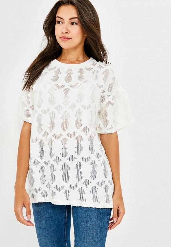 Купить Блуза H:Connect, hc002ewaxnf5, белый, Весна-лето 2018