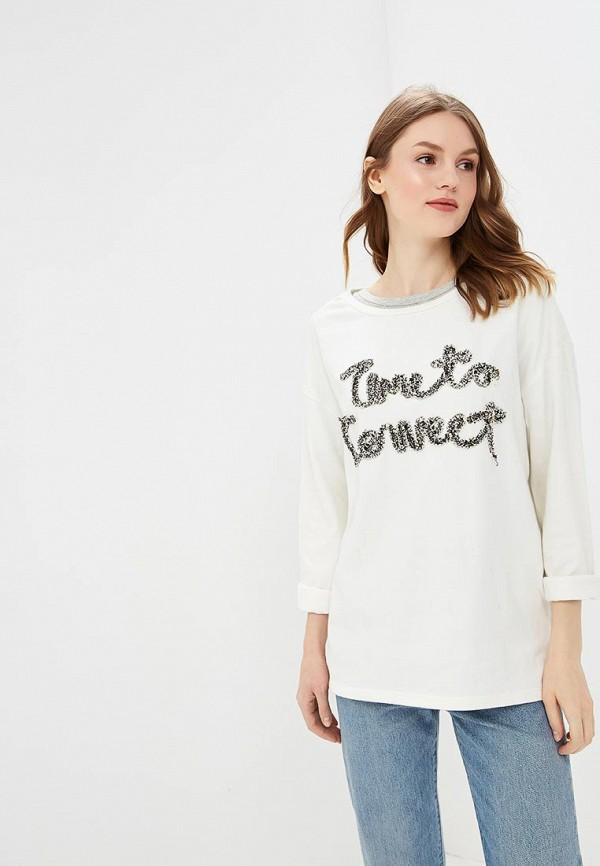 Купить Лонгслив H:Connect, HC002EWAXNH6, белый, Весна-лето 2018