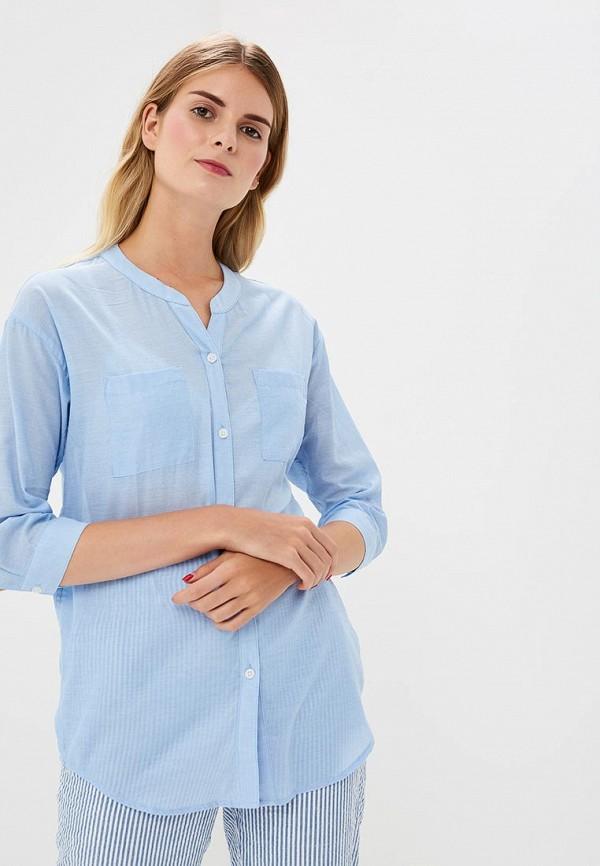 Купить Блуза H:Connect, hc002ewbgfs5, голубой, Весна-лето 2018