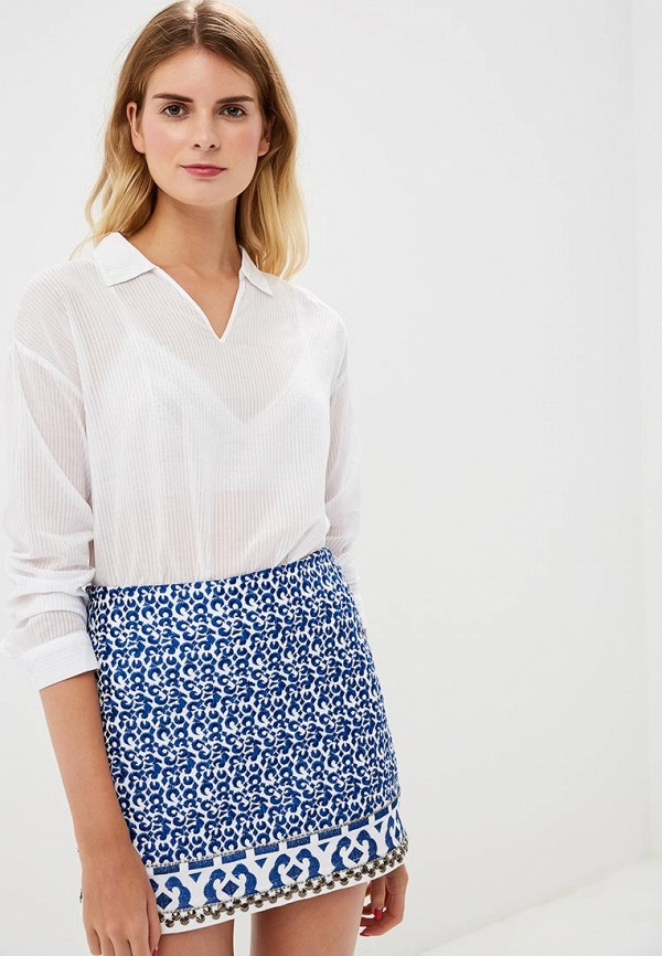 Купить Блуза H:Connect, hc002ewbgfs9, белый, Весна-лето 2018