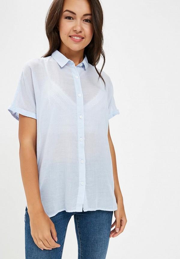 Купить Рубашка H:Connect, hc002ewbgft5, голубой, Весна-лето 2018