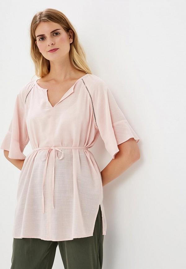Купить Блуза H:Connect, hc002ewbgfv2, розовый, Весна-лето 2018