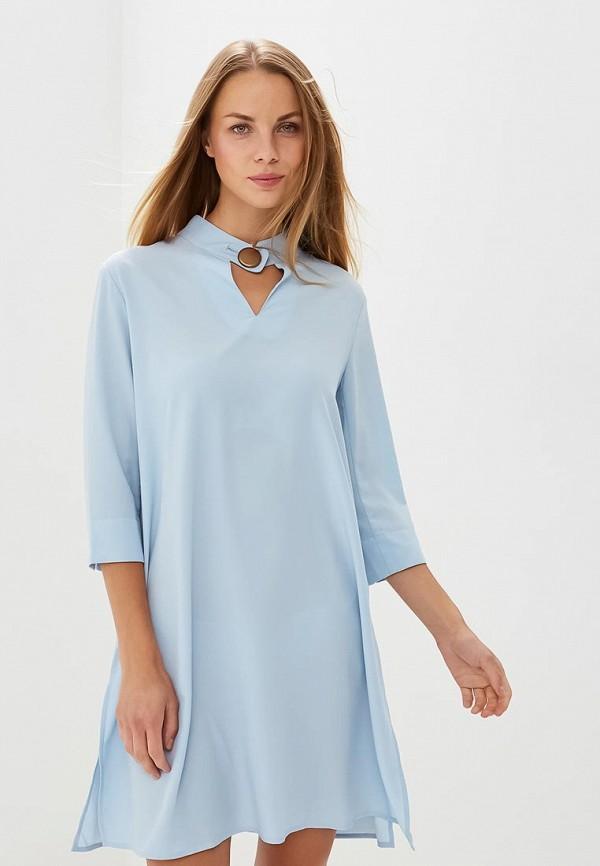 Купить Платье H:Connect, hc002ewbgfv5, голубой, Весна-лето 2018