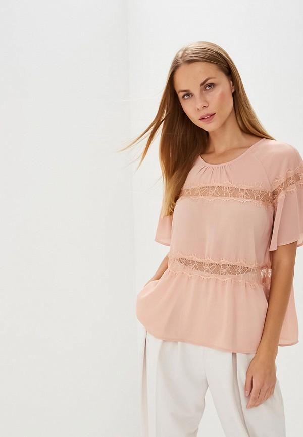 Купить Блуза H:Connect, hc002ewbggd9, бежевый, Весна-лето 2018