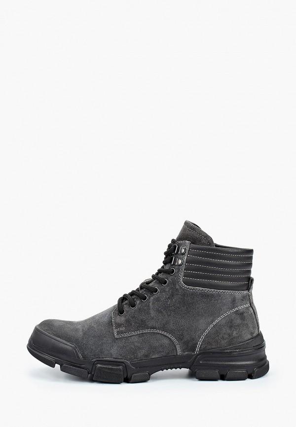 мужские высокие ботинки hcs, серые