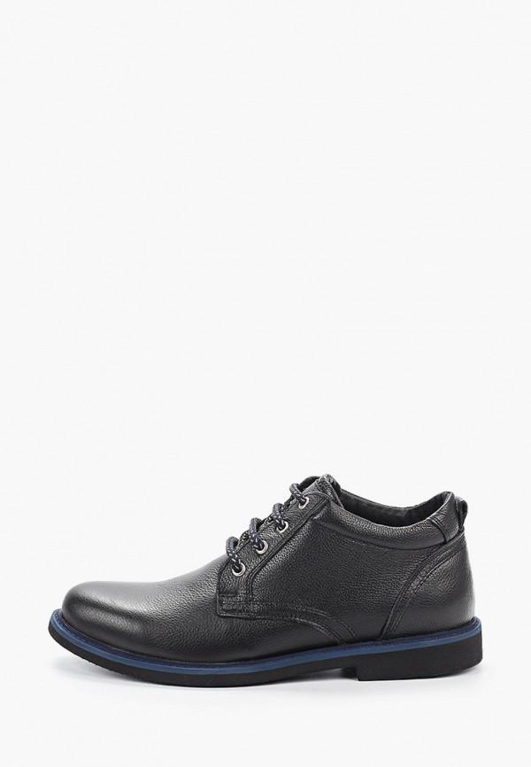 Фото - мужские ботинки и полуботинки HCS черного цвета