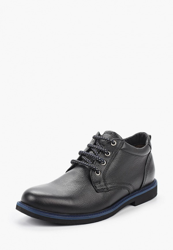 Фото 2 - мужские ботинки и полуботинки HCS черного цвета