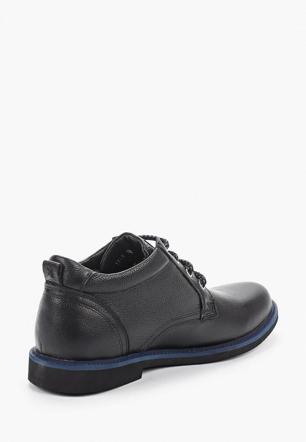 Фото 3 - мужские ботинки и полуботинки HCS черного цвета