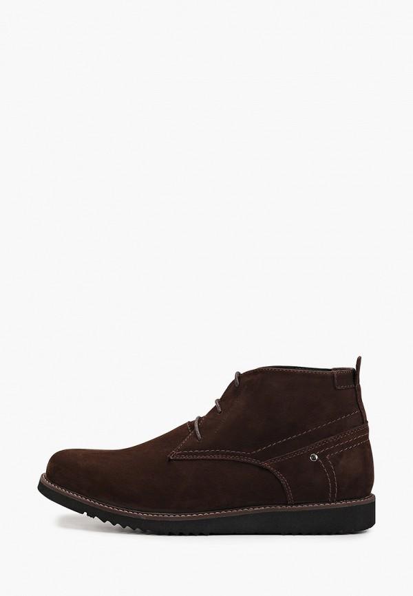 мужские высокие ботинки hcs, коричневые