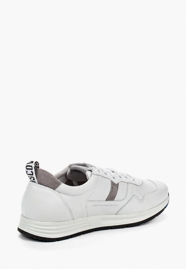Фото 2 - мужские кроссовки HCS белого цвета