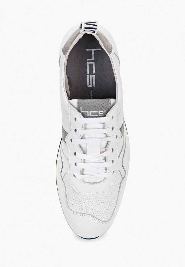 Фото 4 - мужские кроссовки HCS белого цвета