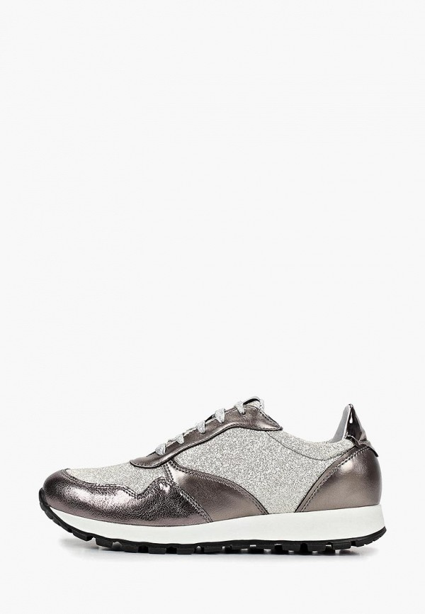 женские кроссовки hcs, серебряные