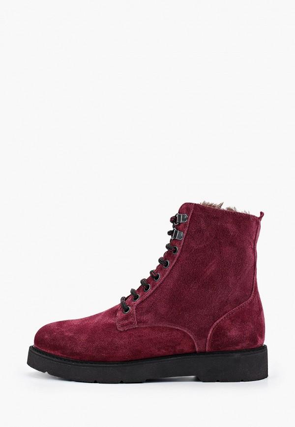 женские ботинки hcs, бордовые