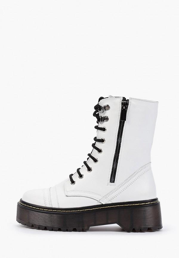 женские высокие ботинки hcs, белые