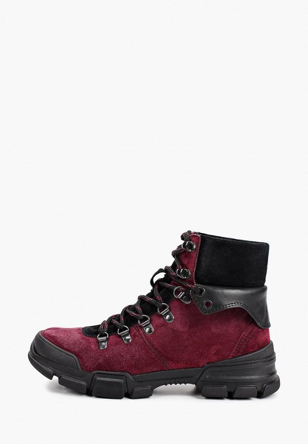 женские высокие ботинки hcs, фиолетовые
