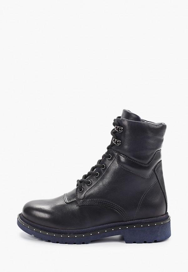 Фото - женские ботинки и полуботинки HCS синего цвета