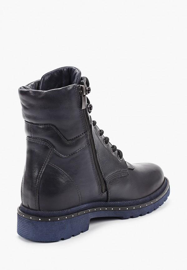 Фото 3 - женские ботинки и полуботинки HCS синего цвета