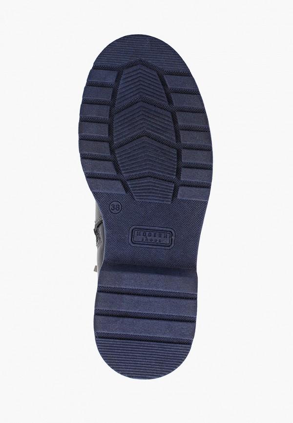 Фото 5 - женские ботинки и полуботинки HCS синего цвета