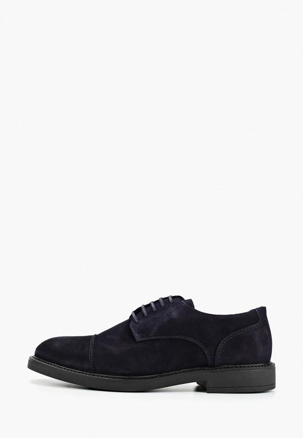 мужские туфли mango man, синие