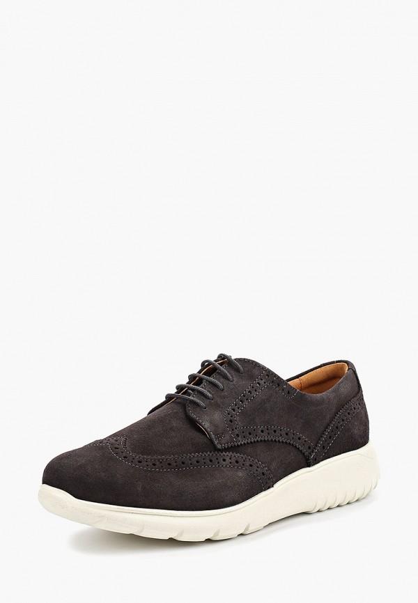 Фото 2 - мужские ботинки и полуботинки Mango Man серого цвета