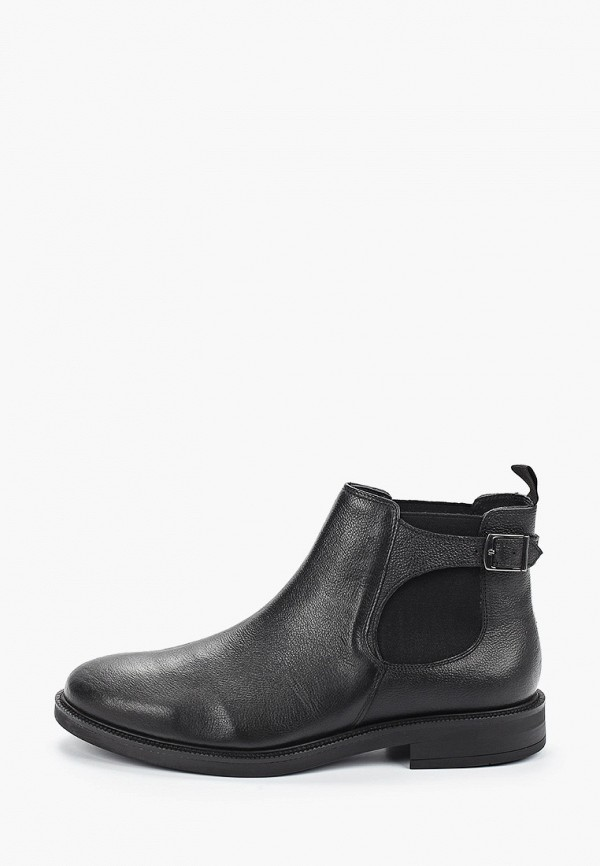 мужские ботинки mango man, черные