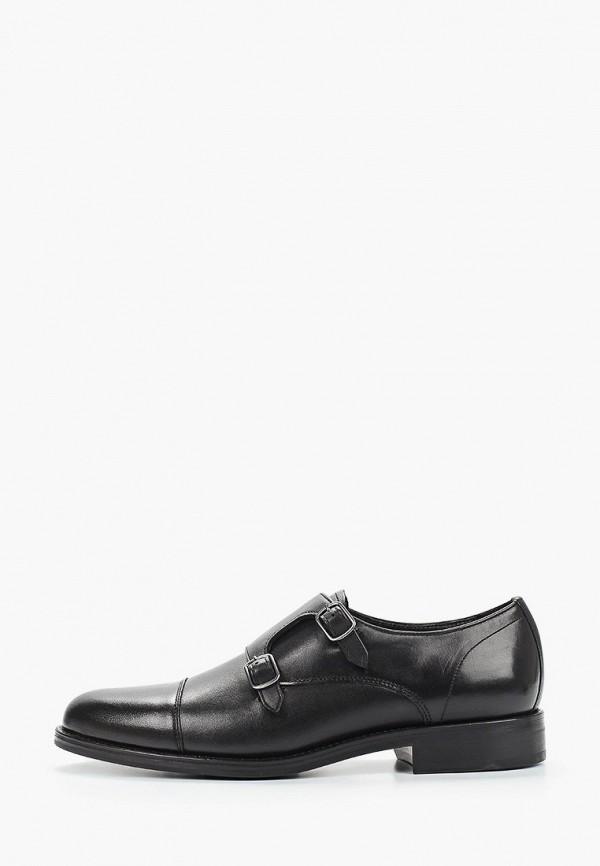 мужские туфли mango man, черные