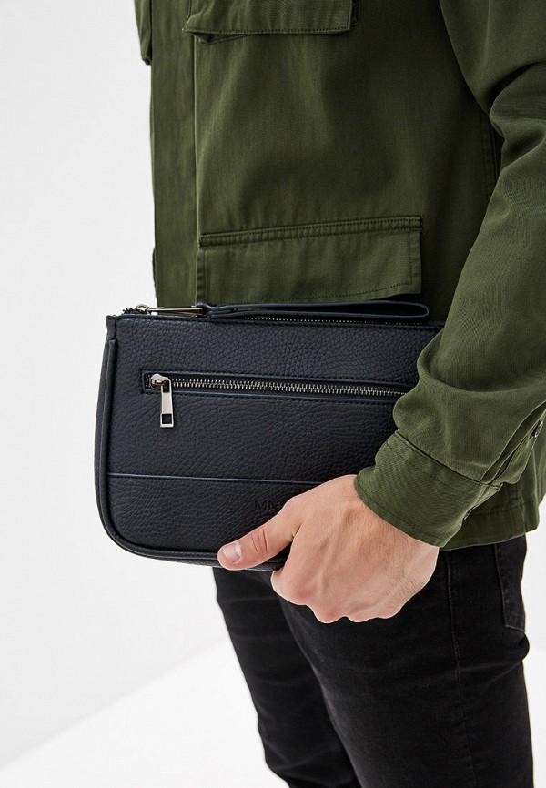 Фото 4 - мужскую сумку Mango Man синего цвета