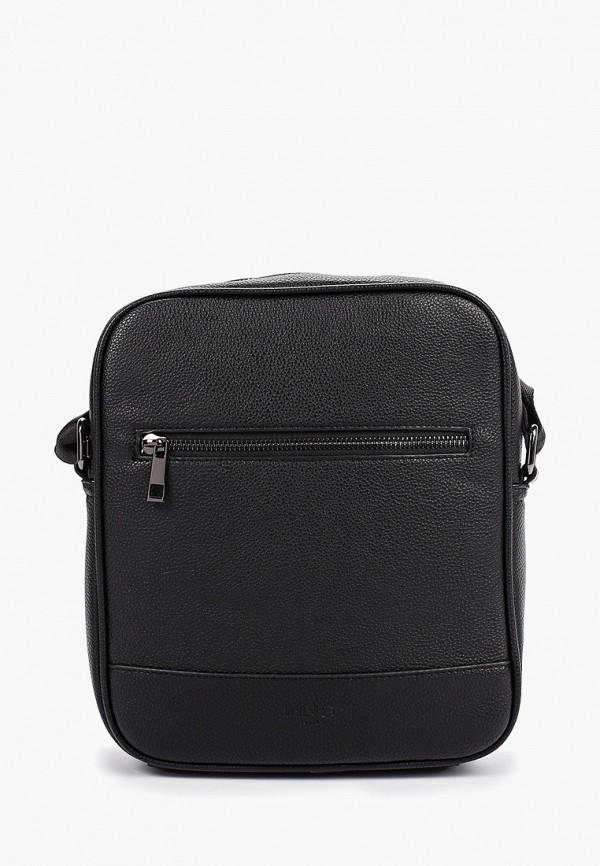 мужская сумка mango man, черная