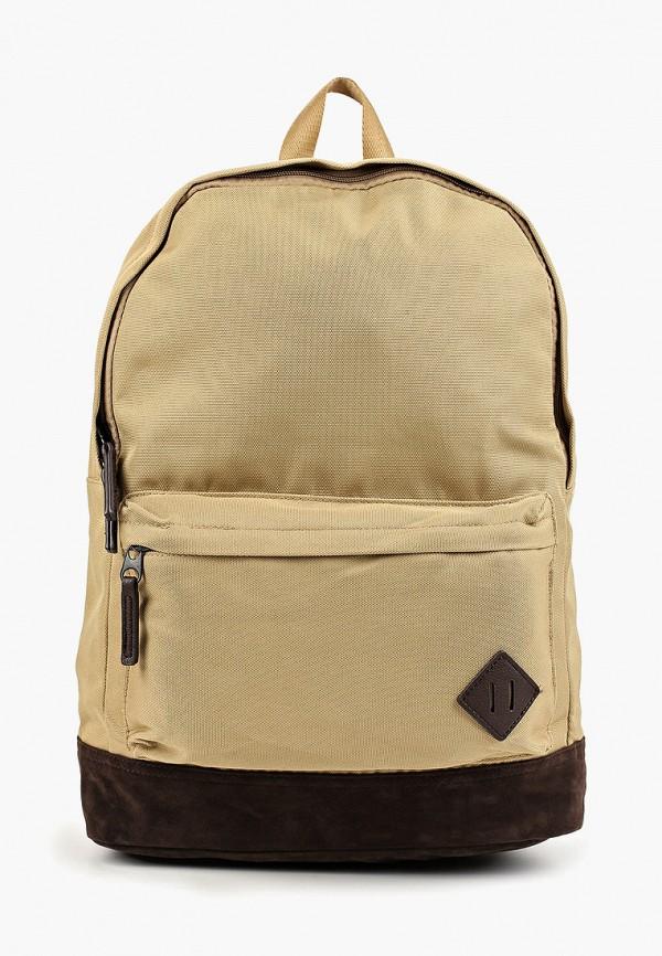 мужской рюкзак mango man, коричневый