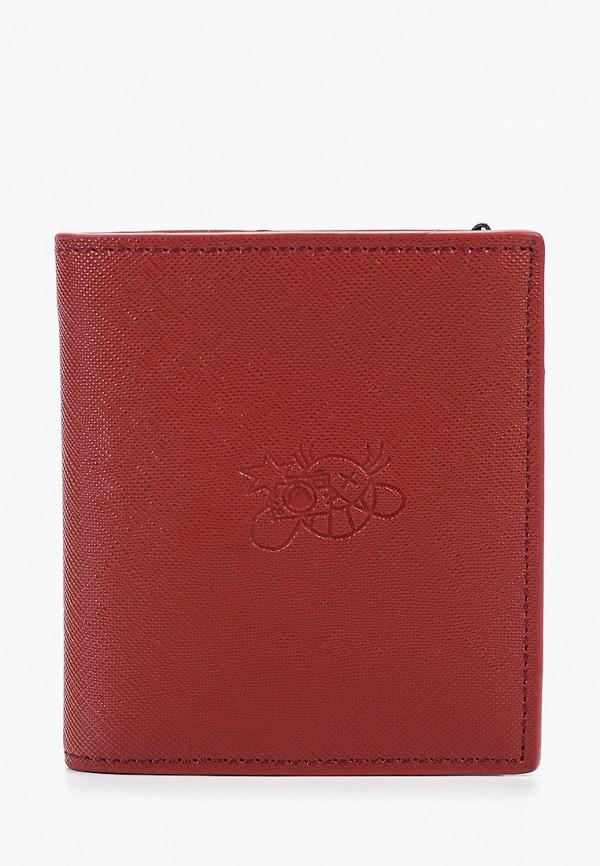 мужской кошелёк mango man, красный