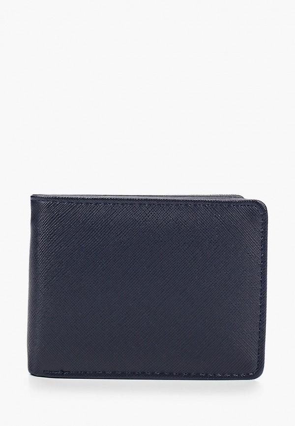 мужской кошелёк mango man, синий