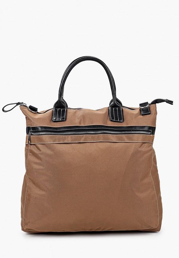мужская сумка mango man, коричневая