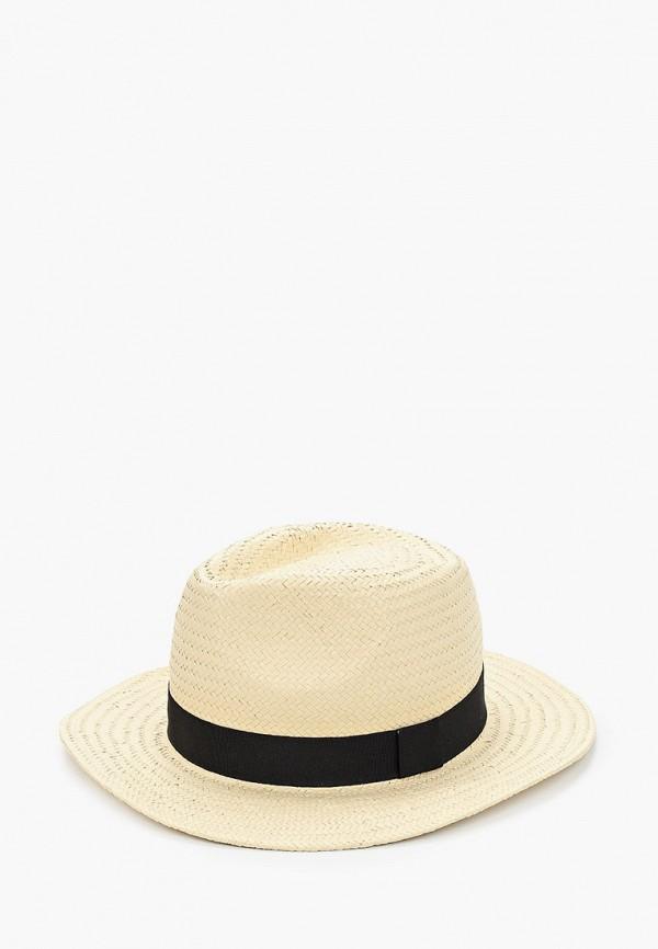 мужская шляпа mango man, бежевая