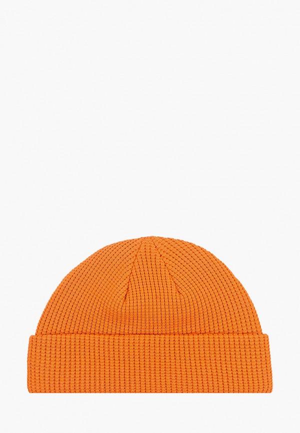 мужская шапка mango man, оранжевая