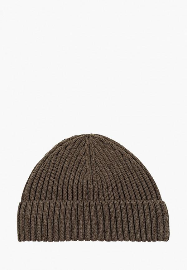 мужская шапка mango man, хаки
