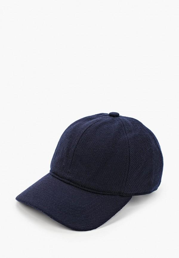 мужская кепка mango man, синяя