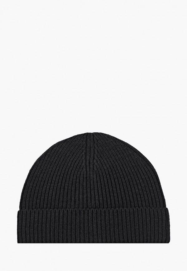 мужская шапка mango man, черная