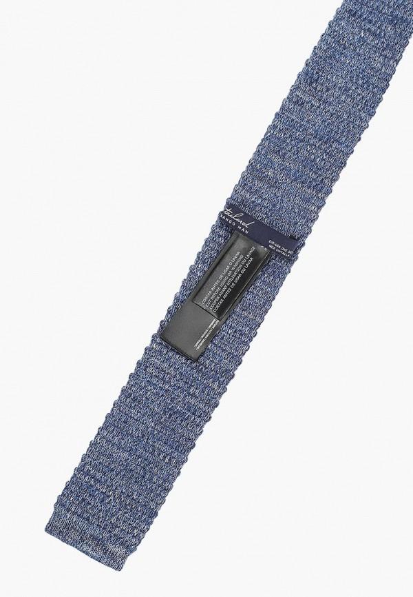 Фото 2 - мужской галстук Mango Man синего цвета