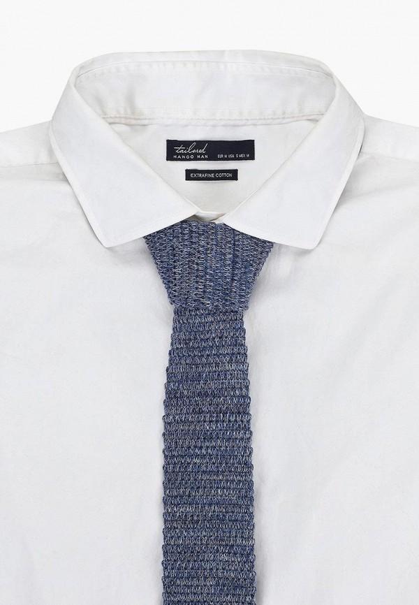 Фото 3 - мужской галстук Mango Man синего цвета