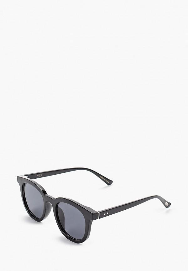 мужские солнцезащитные очки mango man, черные